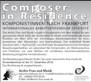 Anzeige CiR Deutsch 28.10.2014