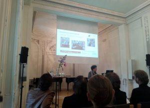 Mary Ellen Kitchens - Vortrag zum Archiv Frau und Musik. © Susanne Wosnitzka.