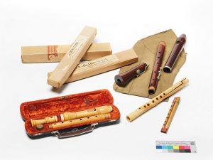 Instrumente von Felicitas Kukuck © Archiv Frau und Musik