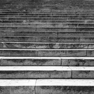 Stufen aufwärts © Susanne Wosnitzka