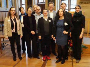 MitarbeiterInnen und Ehrenamtliche des Archivs Frau und Musik © Eva Brendel