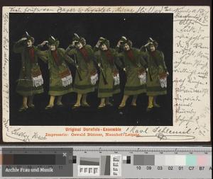 Original Dornfels-Ensemble © Archiv Frau und Musik (gemeinfrei)