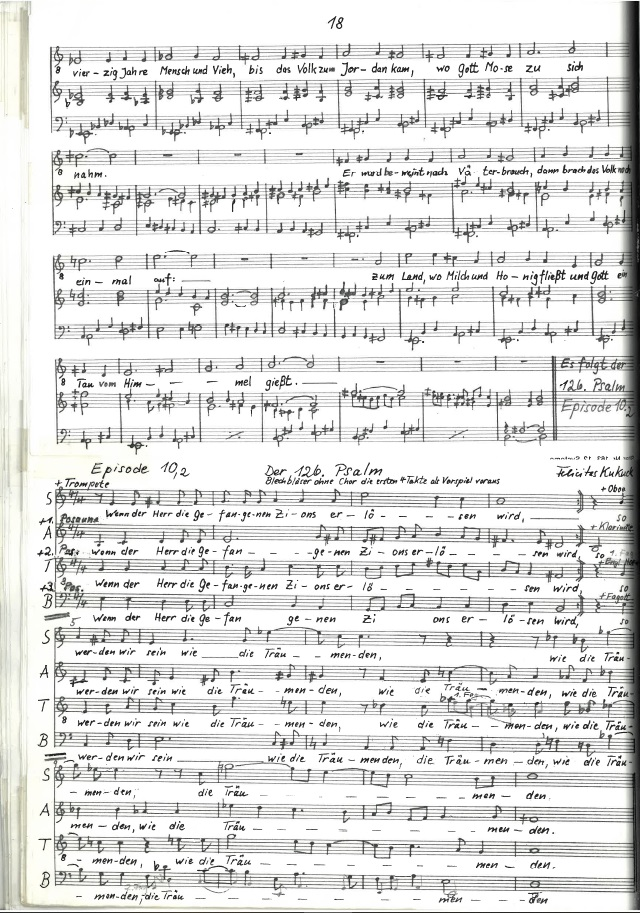 """S. 18 aus """"Der Mann Mose"""" © Archiv Frau und Musik"""